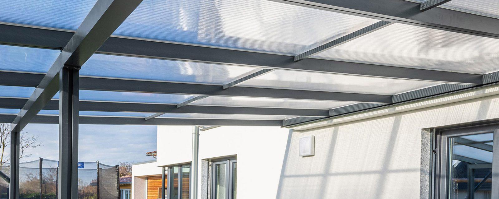 Header Anwendungen Terrassendach Premium