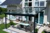 Terrassendach Premium 4x4m anthrazit Echtglas
